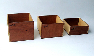 Wooden Storage Boxes ECE Resources Early Childhood Education Kindergarten Hebe Natural Childrens Furniture NZ