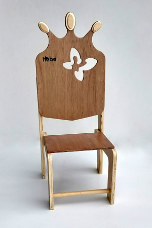 Throne Wooden Brithday Chair Celebration Hebe Natural Childrens Furniture NZ